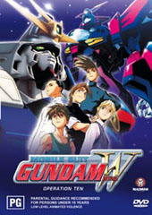 Gundam Wing - 10 on DVD