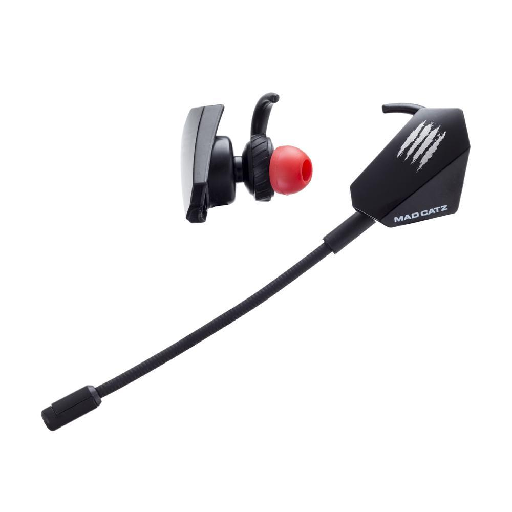 Mad Catz E.S. PRO + Gaming Ear Buds (Black) for PC image