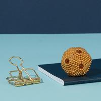 Speks: Magnetic Balls Desk Toy - Gold