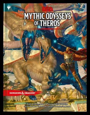 Dungeons & Dragons Mythic Odysseys of Theros by Wizards RPG Team