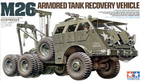 Tamiya M26 Armoured Tank Recovery Vehicle 1:35 Model Kit