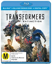 Transformers 4: Age of Extinction on Blu-ray