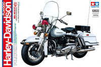 Tamiya 1:6 Harley Davidson FLH1200 Police Bike Model Kit