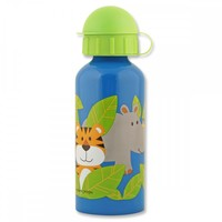 Stephen Joseph Stainless Steel Water Bottle - Zoo