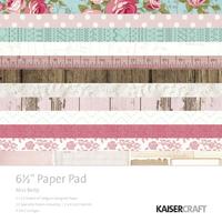 "Kaisercraft Miss Betty 6.5"" Paper Pad"