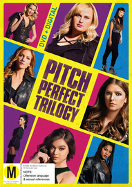 Pitch Perfect 1, 2 & 3 on DVD