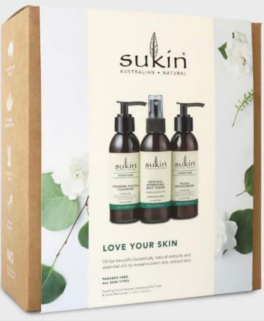 Sukin Natural Essentials Gift Set - Love Your Skin (3x125ml)