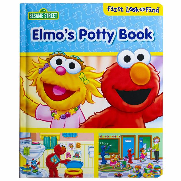 Elmos Potty Book My First Look And Find by P I Kids