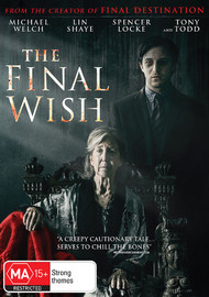The Final Wish on DVD image