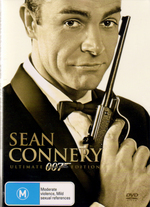 Sean Connery - Ultimate James Bond Edition (12 Disc Set) on DVD