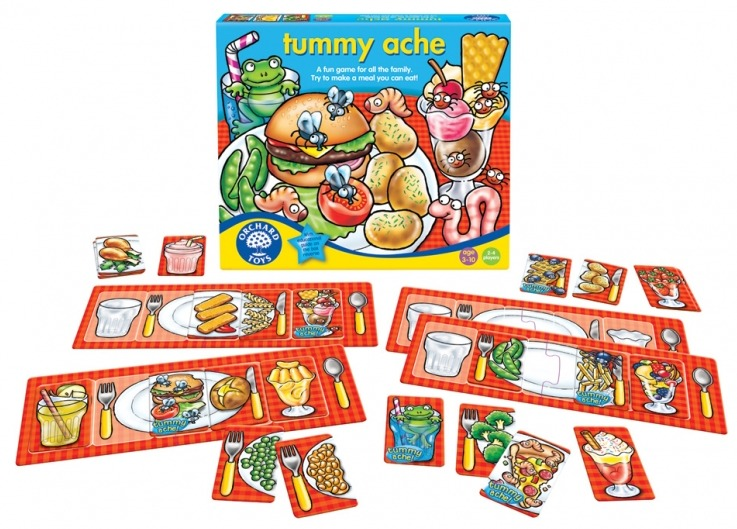 Orchard Toys: Tummy Ache Game image