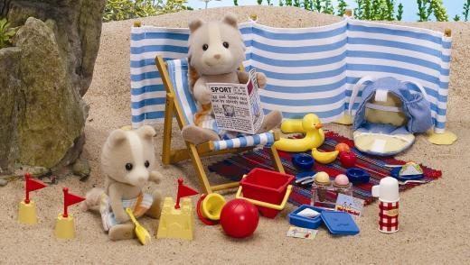 Sylvanian Families: A Day at the Seaside Set