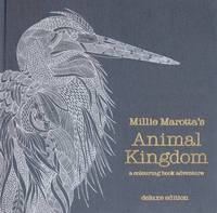 Millie Marotta's Animal Kingdom Linen Bound Deluxe Edition (Special) by Millie Marotta