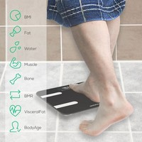 "mbeat ""actiVIVA"" Bluetooth BMI and Body Fat Smart Scale with Smartphone APP image"