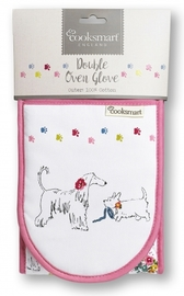 Cooksmart Double Oven Gloves - Dapper Dogs image