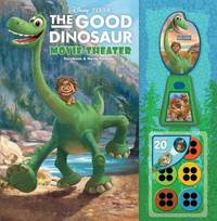 Disney-Pixar the Good Dinosaur Movie Theater Storybook & Movie Projector by Bill Scollon