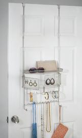 InterDesign Classico Over the Door Jewellery & Accessory Organiser