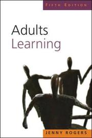 Adults Learning by Jenny Rogers image