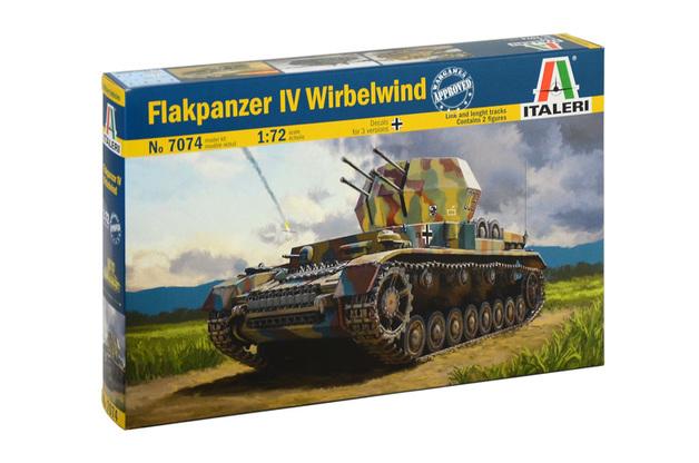 Italeri 1/72 Flakpanzer Wirbelwind - Scale Model Kit