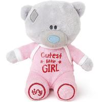 Tiny Tatty Teddy Plush - Cutest Little Girl Onesie