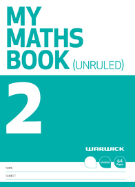 Warwick: My Maths Book 2 - Unruled