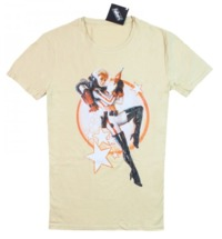 """Fallout T-Shirt """"Nuka Cola Pinup"""" Beige, S"""