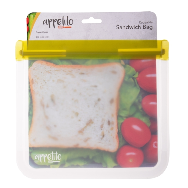 Appetito: Food Storage Bag Lunch (21.5x19.5cm)