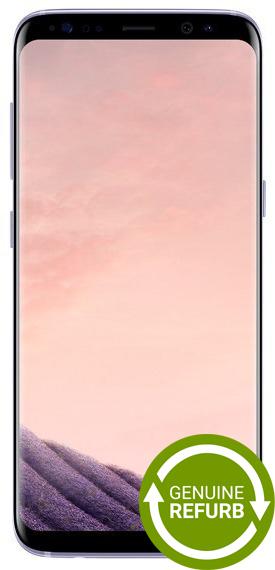 Samsung Galaxy S8+ (64GB/4GB RAM) - Orchid Grey [Genuine Refurbished]