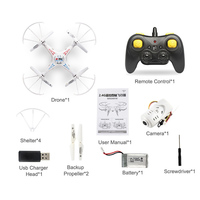 Anti-Collision RC Drone with Camera image