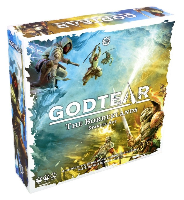 Godtear: The Borderlands - Starter Set (Titus - The Disgraced / Finvarr - Lord of Mirages)