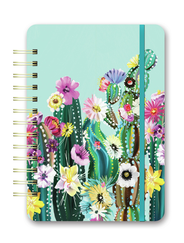 Orange Circle Studio: Desert Blossoms 2021 Do It All Planner