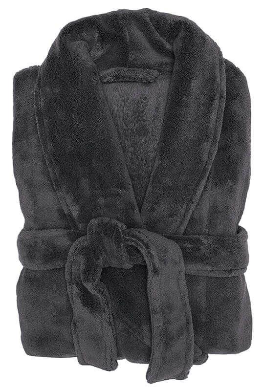 Bambury: Charcoal Microplush Robe image