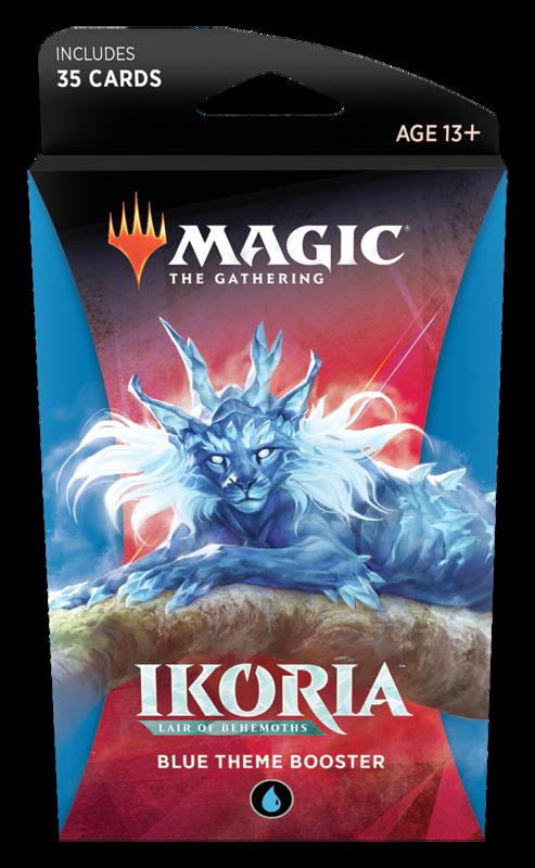 Magic the Gathering: Ikoria: Lair of Behemoths - Theme Booster Blue