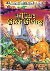 The Land Before Time - Vol 3 - The Time Of The Great Giving on DVD