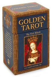 Golden Tarot Cards (Deck & Guidebook) by Kat Black