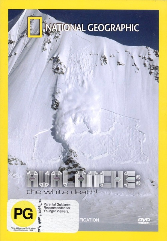 National Geographic - Avalanche, The White Death on DVD