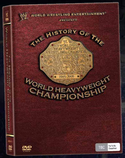 WWE - The History of the World Heavyweight Championship (3 Disc Set) on DVD