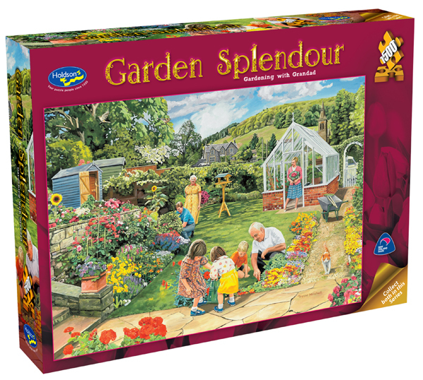 Holdson: Garden Splendor 1500pc - Gardening With Grandad
