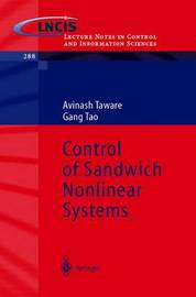 Control of Sandwich Nonlinear Systems by Avinash Taware