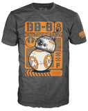 Star Wars - BB-8 Poster Pop! T-Shirt (S)