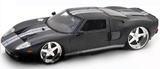 Jada: 1/24 2005 Ford Gt (Gun Metal) - Diecast Model