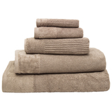 Bambury Costa Cotton Bath Sheet (Mocha)
