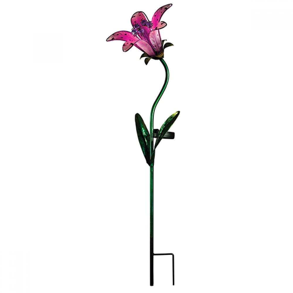 Regal: Solar Tiger Lily Stake - Pink image