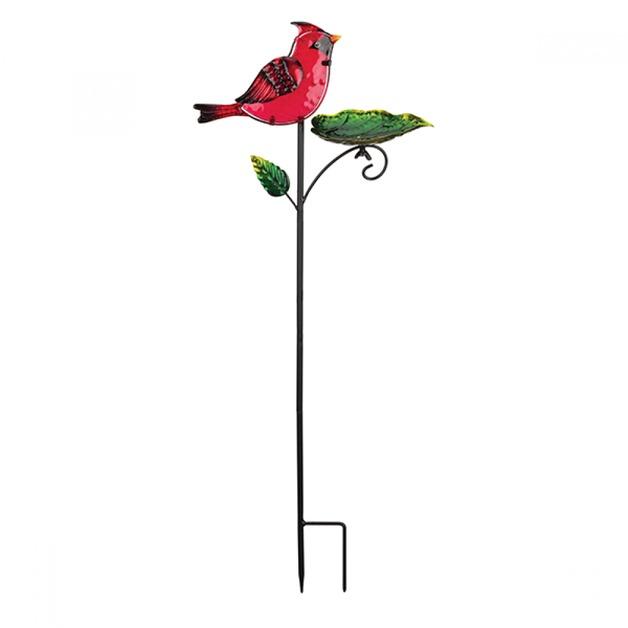 Regal: Bird Feeder Stake - Cardinal