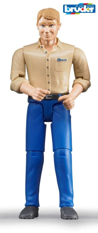 Bruder: Driver Figure - (Male)