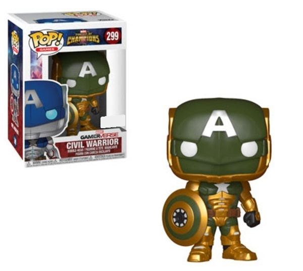 Marvel: Contest of Champions - Civil Warrior (Army Green Ver.) Pop! Vinyl Figure image