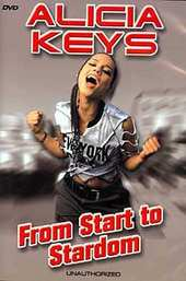 Alicia Keys - From Start To Stardom on DVD