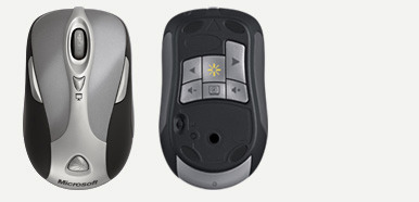 Microsoft Wireless Notebook Presenter Mouse 8000
