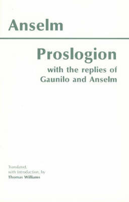 Proslogion by Anselm