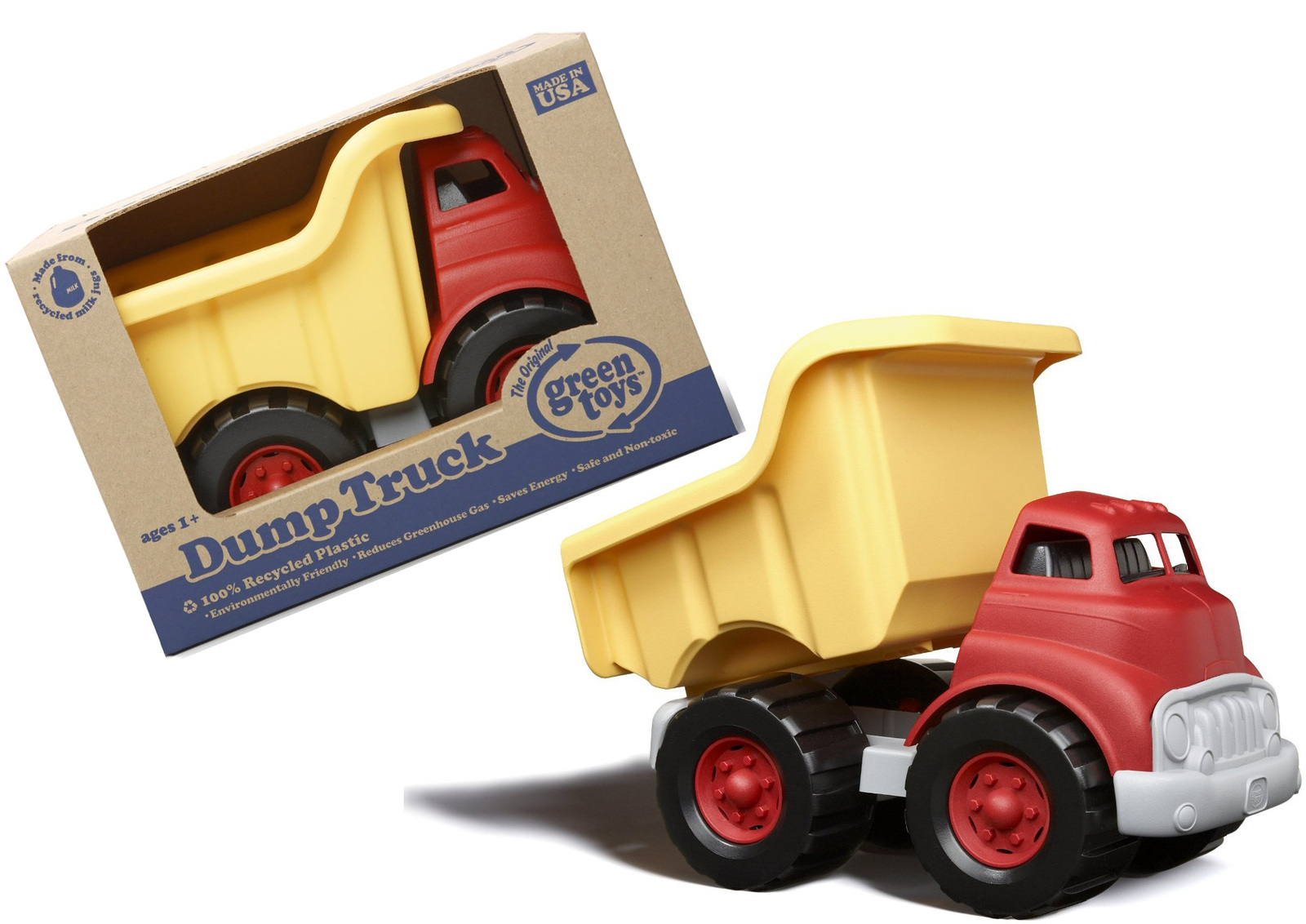 Green Toy Truck : Green toys dump truck toy at mighty ape australia
